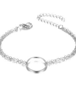 Bracelet cercle argent