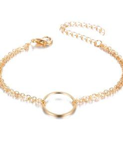 Bracelet cercle dore