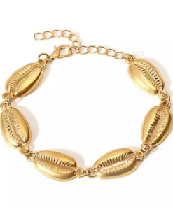 Bracelet coquillage or
