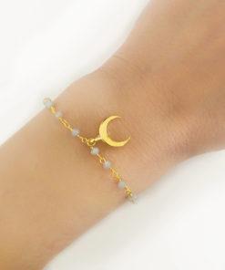 Bracelet corne or