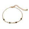 Bracelet dore noir