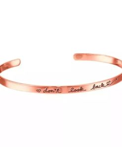 Bracelet jonc message