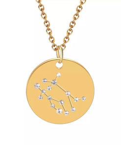 Collier constellation gemeaux