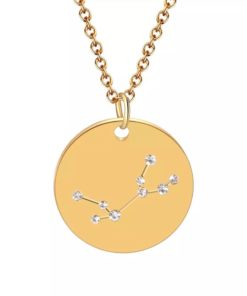 Collier constellation vierge