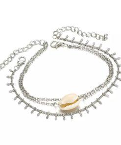 Ensemble bracelets coquillage