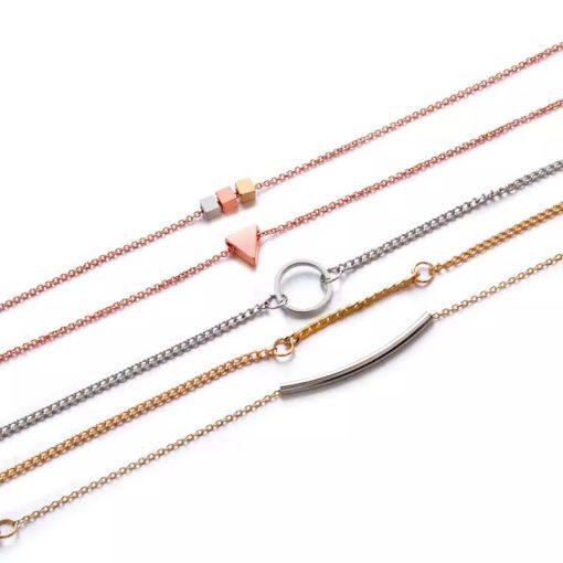 Ensemble bracelets originaux pour femme
