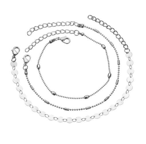 Ensemble bracelets tendance 2019 argent