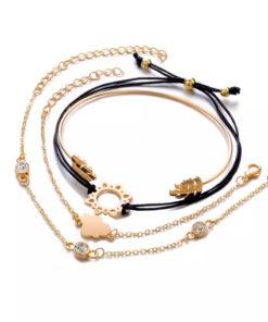Ensemble de bracelets femme