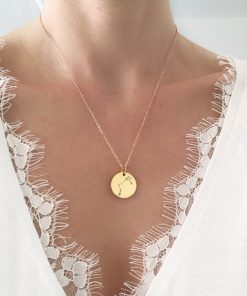 collier medaille constellation