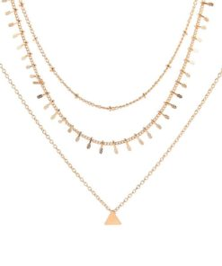 collier multirang tendance