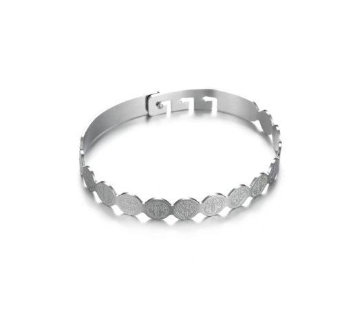 Bracelet Jonc ruban argent