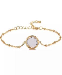 Bracelet fantaisie avec pierre