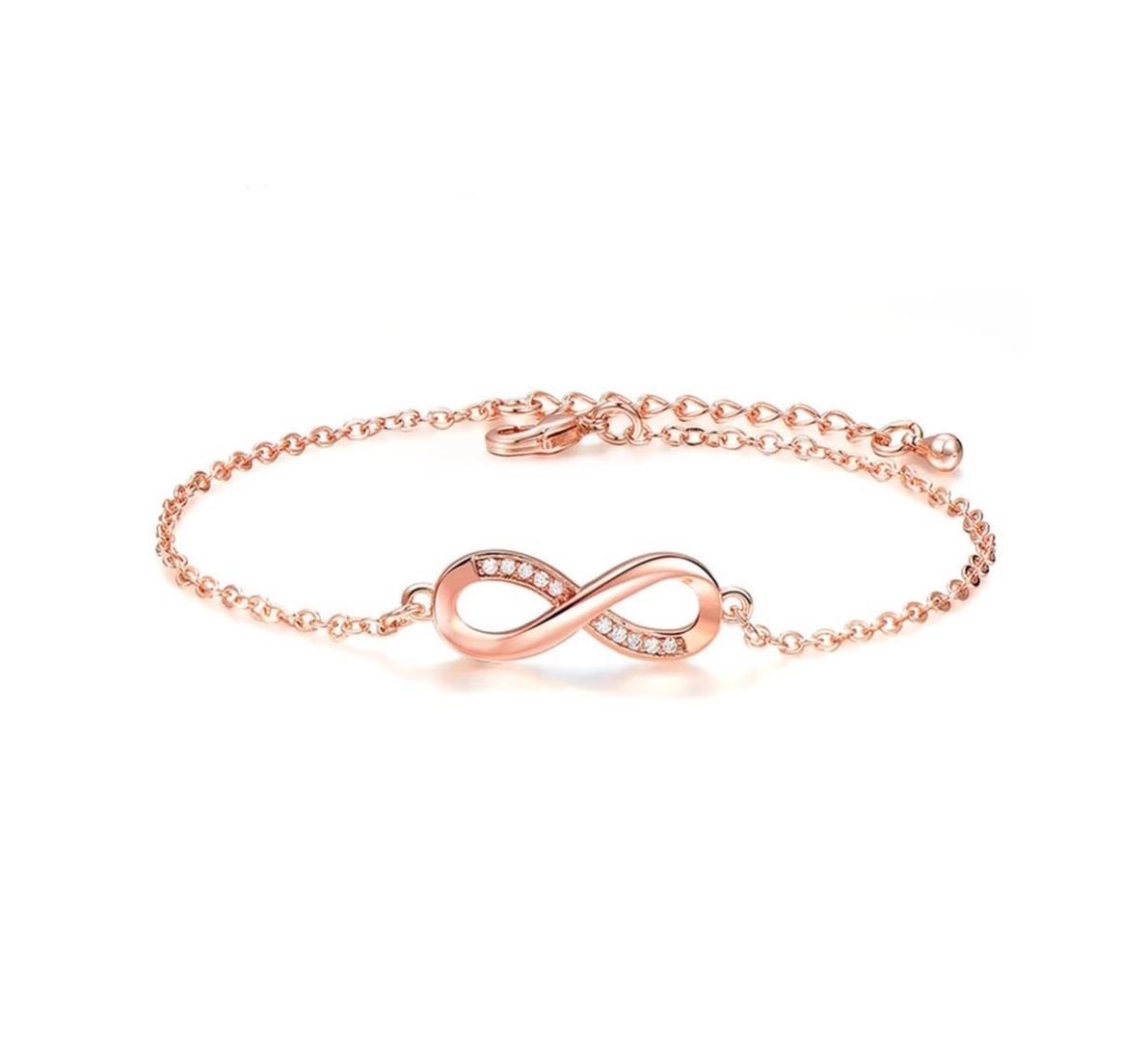 bracelet femme or rose fin