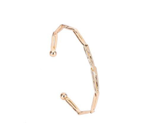 Bracelet jonc fin or