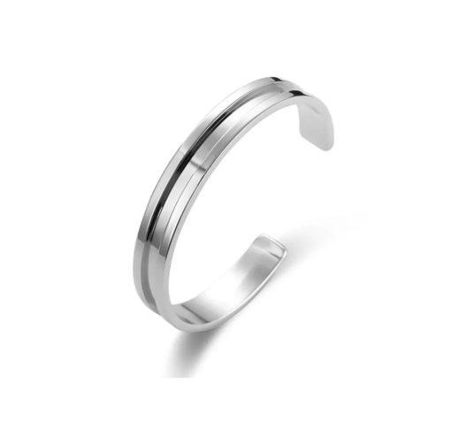 Bracelet jonc ouvert - Laure
