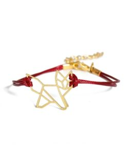 Bracelet original cordon rouge
