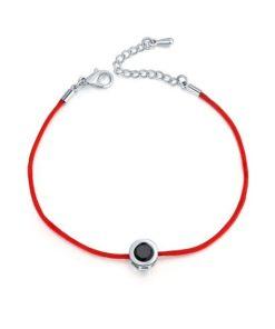 Bracelet oxyde de zirconium noir