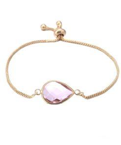 Bracelet pierre violette