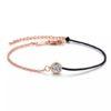 Bracelet tendance cordon noir