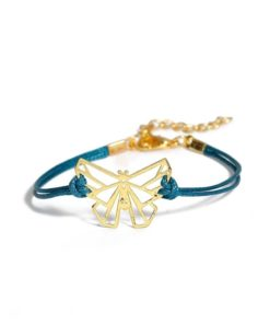 Cadeau anniversaire copine - Bracelet cordon bleu