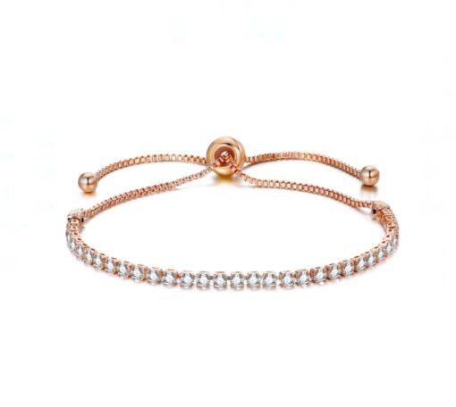 Cadeau anniversaire femme- Bracelet or rose