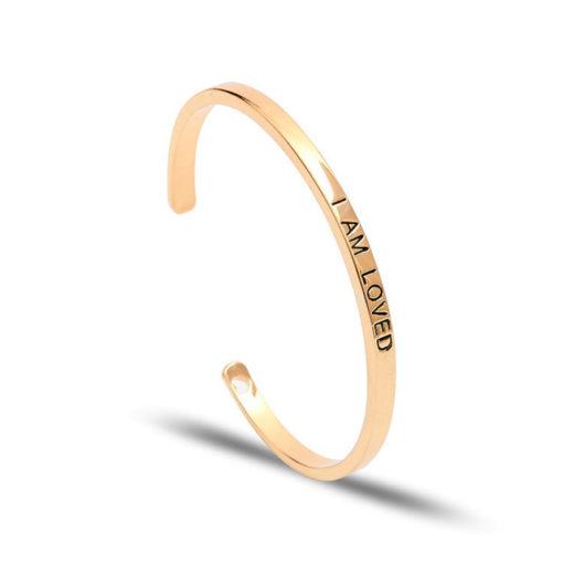 Cadeau original femme- Bracelet grave