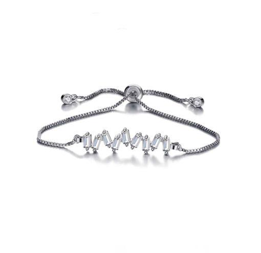 Bracelet cadeau soeur oxyde zirconium