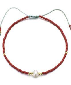 Bracelet miyuki rouge