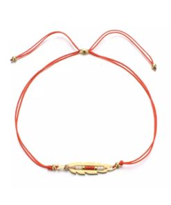 Bracelet original plume