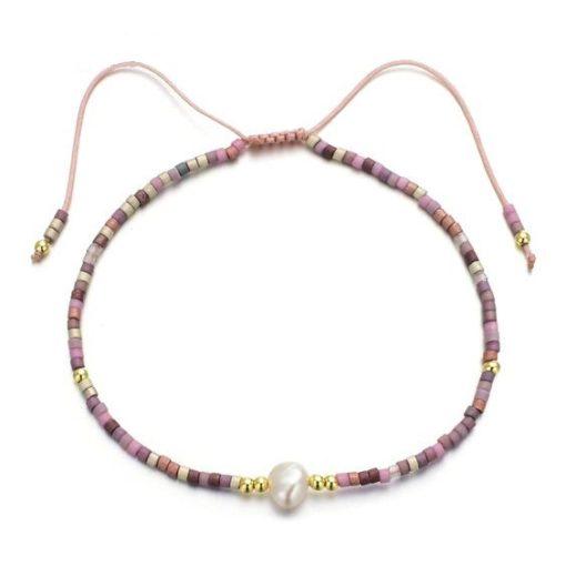 Bracelet perles miyuki multicolore