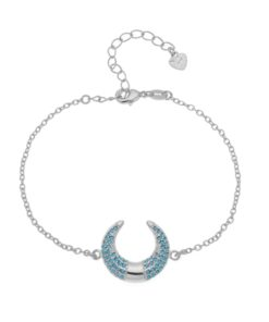 Cadeau femme -Bracelet corne lune