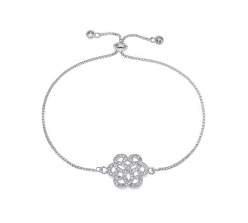 Cadeau femme -Bracelet fleur