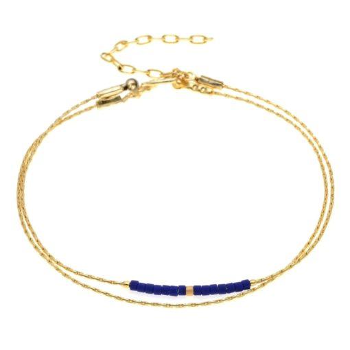 Bracelet Minimaliste Chaine Fine Femme