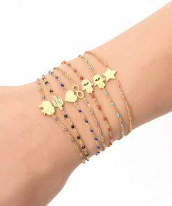 Bracelet cadeau femme etoile