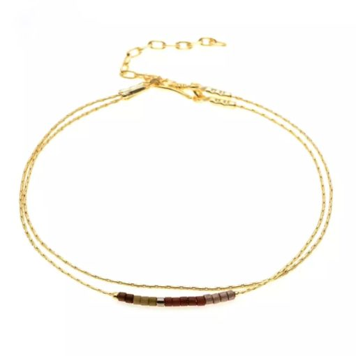 Bracelet minimaliste or