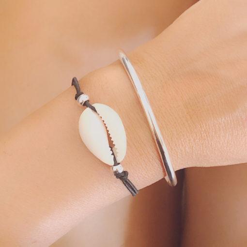 Duo de bracelets coquillage,