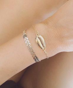 Duo de bracelets plage