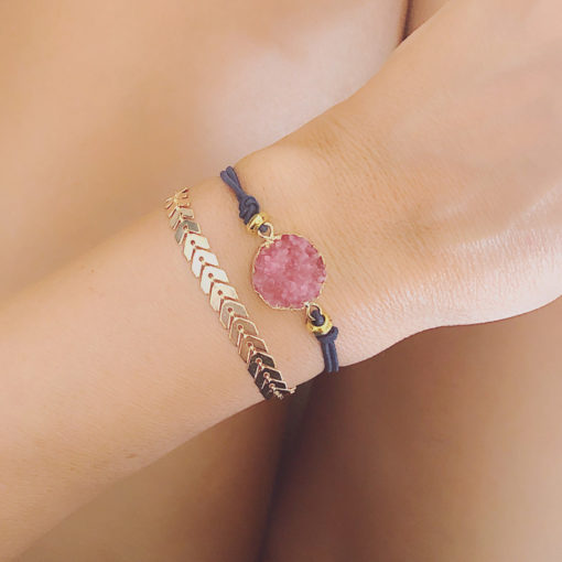 Ensemble bracelets pampille