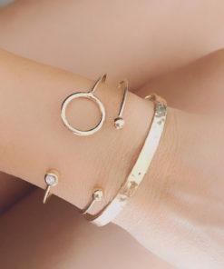 Set de bracelets jonc