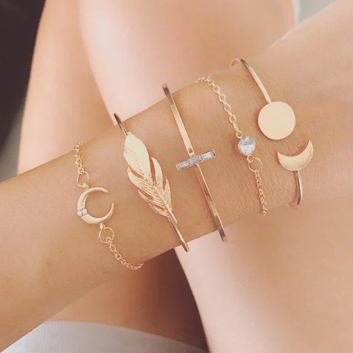 set de bracelets tendance