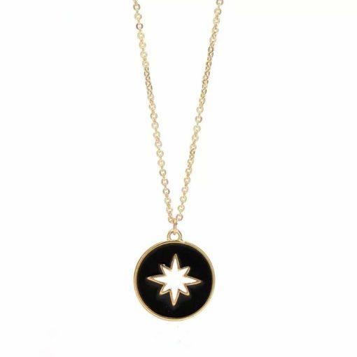 Collier medaille noire