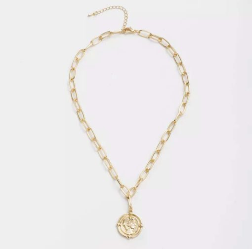 collier medaille originale
