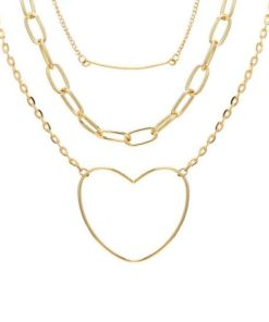 Collier cadeau triple rangs