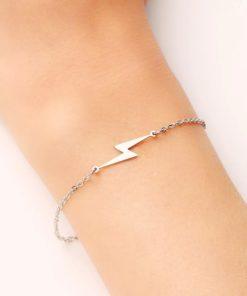 Bracelet fleche acier