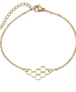 Bracelet nid d abeille