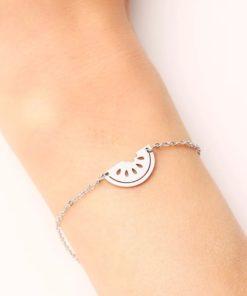 Bracelet pasteque acier