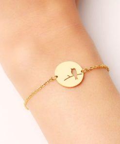 bracelet medaille
